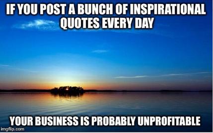 Unprofitable business