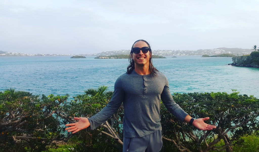 Hanging in Bermuda